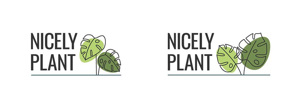 Nicely Plant Leaf options