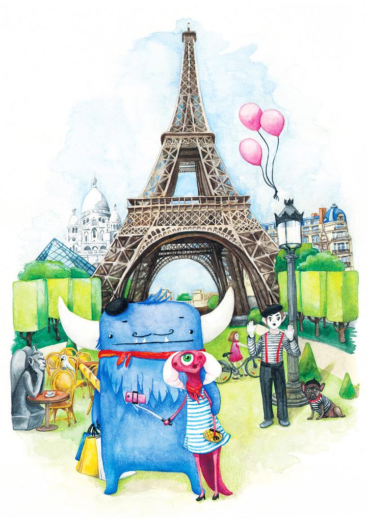 Monsters in Paris