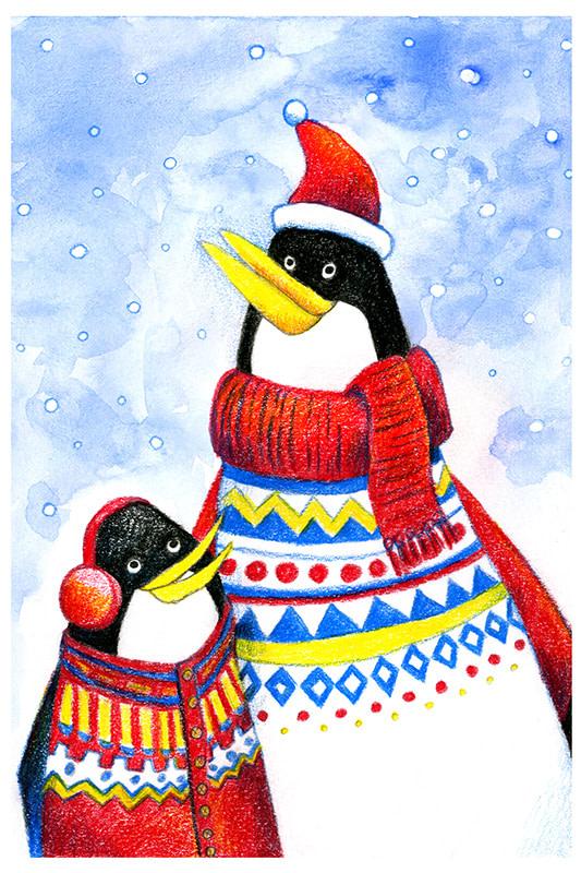 Papa Pinguin