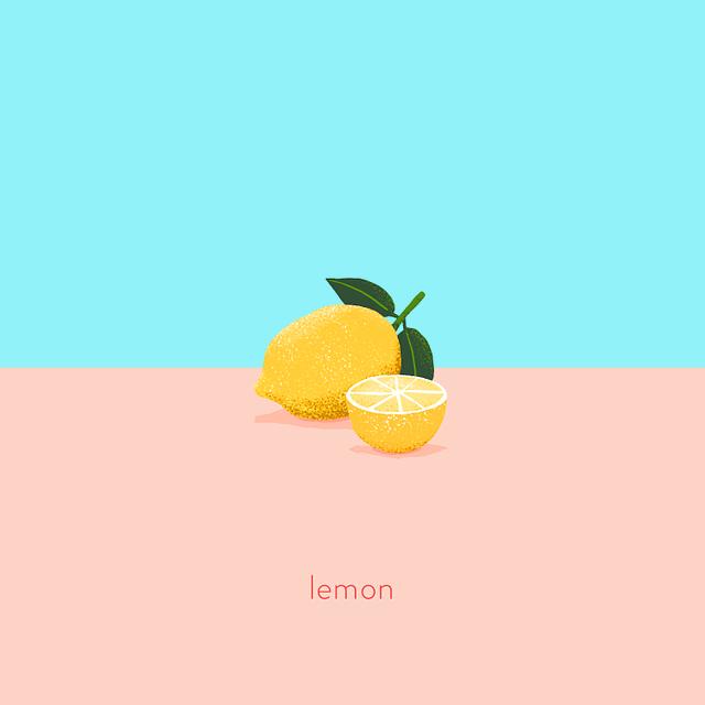 Tasty Tidbits - Lemon illustration