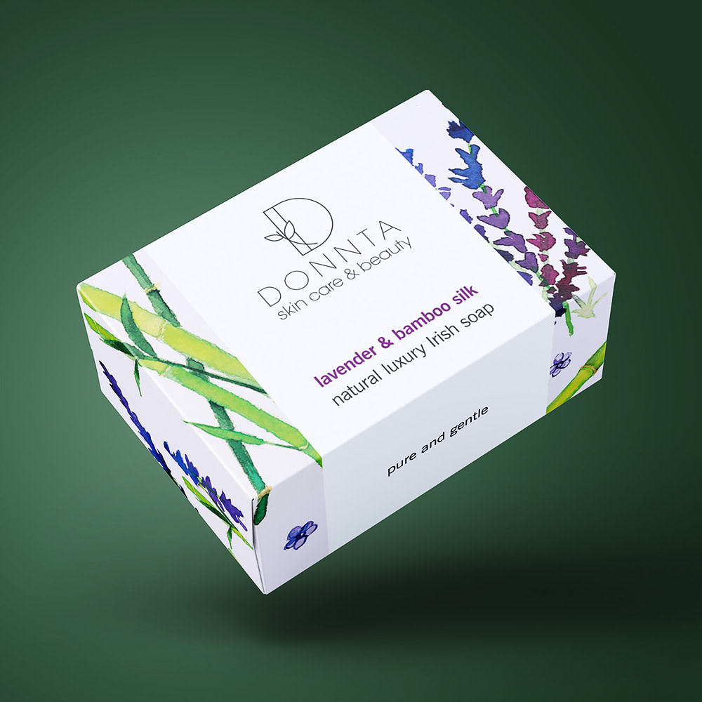 Donnta Bamboo Soap Packaging Design
